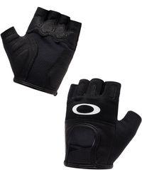 Oakley Jet Black Factory Road Gloves 2.0 - Negro