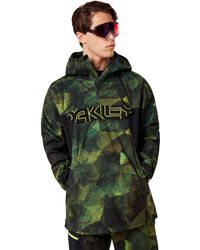Oakley Geo Camo P. Black Forest Shell 3l 15k Jacket - Grün