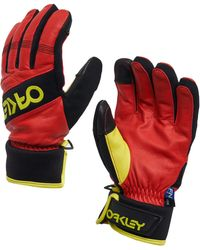 Oakley High Risk Red Factory Winter Glove 2.0 - Rot