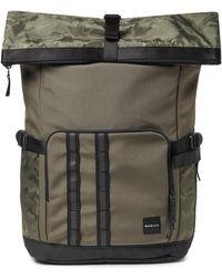 Oakley Dark Brush Utility Rolled Up Backpack - Grün