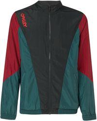 Oakley Dull Onyx Nylon Track Jacket - Groen