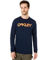 Oakley Mark Ii L/s Tee - Blue