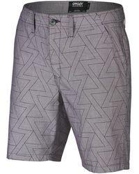 Oakley Purple Factory Pilot Chambray Shorts - Lila