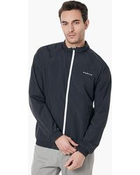 Oakley Blackout Legacy Ellipse Track Jacket - Schwarz