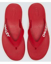 Oakley B1b Flip Flop - Rot