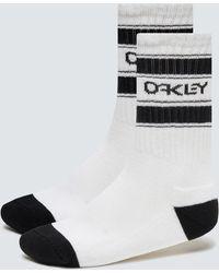 Oakley B1b Icon Socks (3 Pcs) - White