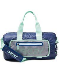 Oakley Dark Blue 90's Small Duffle Bag - Blauw