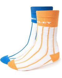 Oakley - Striped Socks - Lyst