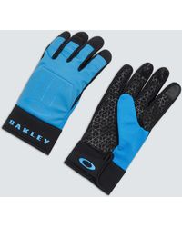 Oakley Ellipse Foundation Gloves - Blau