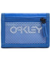 Oakley Electric Shade 90's Wallet - Blau