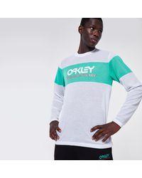 Oakley Tnp Fiery Stripe Ls Tee - Multicolour
