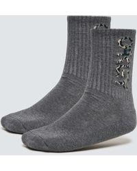 Oakley B1b Socks 2.0 (3 Pcs) - Grey