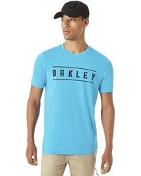 Oakley - O-double Stack Tee - Lyst