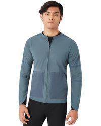 Oakley Dark Slate Radskin Shell Water Repellent Jacket - Blau