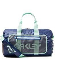 Oakley Blue 90's Big Duffle Bag - Blau
