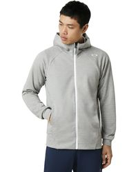 Oakley Enhance Technical Fleece Jacket.grid 9.0 - Gray