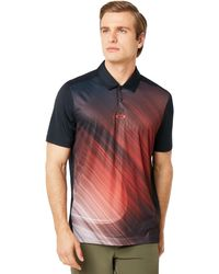 Oakley Exploded Ellipse Golf Polo Short Sleeve - Multicolor