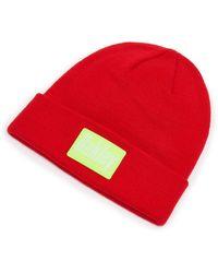 Oakley Patch Beanie - Rojo