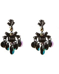Oasis - Sequin Statement Earring - Lyst