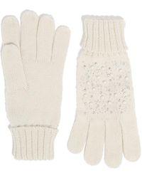 Oasis Pearl Embellished Gloves - Multicolor