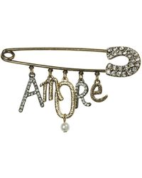 Oasis - Amore Pin Brooch - Lyst