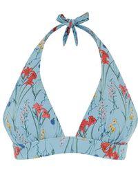 Oasis Flora Textured Bikini Top