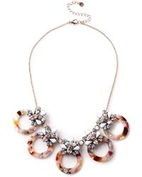 Oasis - Resin Ring Necklace - Lyst