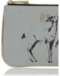 Oasis - Deer Pouch - Mid Grey - Lyst