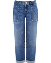 Oasis Sophie Carpenter Jeans - Blue