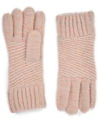 Oasis - Brushed Metallic Gloves - Lyst