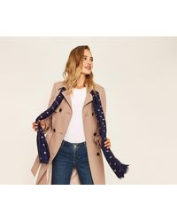 Oasis - Bee Foil Scarf - Lyst