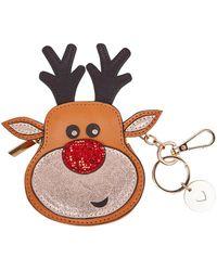 Oasis - Reindeer Coin Purse - Lyst