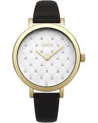 Oasis - Quilted Dial Watch - Lyst