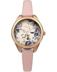 Oasis - Floral Dial Watch - Lyst