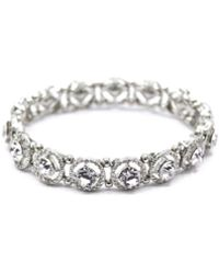 Oasis Crystal Stone Bracelet - Metallic