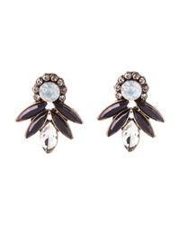 Oasis - Pretty Fan Stud Earrings - Lyst