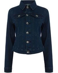 Oasis Nancy Denim Jacket - Blue