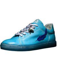 Luca Berioli Feather Sky Sneakers - Blue