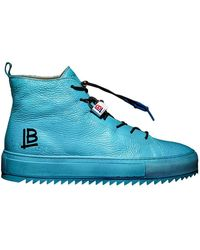 Luca Berioli Mazzarò Sky Sneakers - Blue