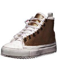 Luca Berioli Iron High Gold Sneakers - Multicolor