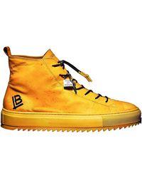 Luca Berioli Mazzarò Yellow Sneakers
