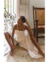 Ochie Palma Pants - White