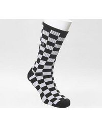 Vans Checkerboard Crew Ii 1pack - Black