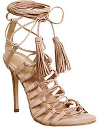 6b9c7cfff989 Parisian Lace Up High Heel Sandals.  98  59 (40% off). Office · Office -  Adorned Multi Strap Single Sole Sandal - Lyst