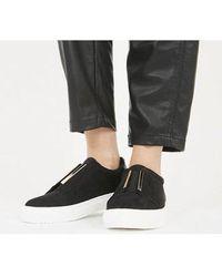 Office Fizz Slip On Sneaker - Black