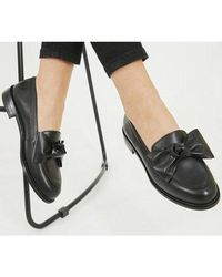 Office Federal- Bow Loafer - Black