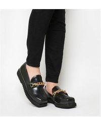 Irregular Choice House Sparrow Shoe - Black