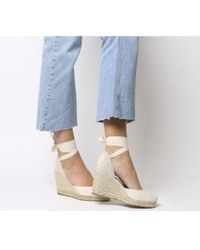 Office Marmalade Espadrille Wedges - Natural