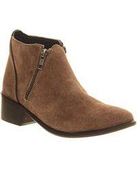 H by Hudson Hudson London Jilt Ankle Boots - Natural