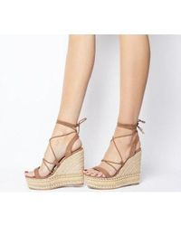 Office - Hula Ghillie Chunky Wedge - Lyst